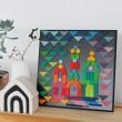 GRIMM´S Kleines Blackboard: dekoriert - Holzspielzeug Profi