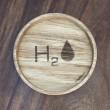 """Holzpost® Untersetzer Bierdeckel """"H2O"""" - Holzspielzeug Profi"""