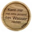 """Holzpost® Untersetzer Bierdeckel """"Wasser reichen"""" - Holzspielzeug Profi"""