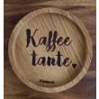 """Holzpost® Untersetzer Bierdeckel """"Kaffeetante"""" - Holzspielzeug Profi"""