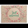 "Holzpost Klappkarte ""Just married"" - Holzspielzeug Profi"
