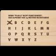 "Holzpost Postkarte ""Plan A"" - Holzspielzeug Profi"