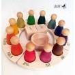 Grapat Immerwährender Kalender (alte Version) - Holzspielzeug Profi