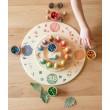 Grapat Plattform 4 Elemente - 4 Jahreszeiten: kombiniert mit Immerwährenden Kalender - Holzspielzeug Profi