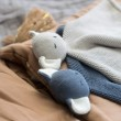 Baby Bello Kiki the Koala Kuscheltuch: hier Varianten Stone Blue und Turtledove - Holzspielzeug Profi