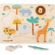 Setzpuzzle Safari von small foot - Holzspielzeug Profi