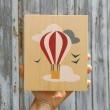 Lubulona Holzbild Illustration Ballon: Größe - Holzspielzeug Profi