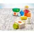 Selecta Klettini® Bauernhof mit 7 Teilen - Holzspielzeug Profi