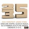 SumBlox Holzbausteine: Einsteiger Set mit 27 Zahlen Bausteinen: erklärt - Holzspielzeug Profi
