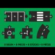waytoplay Mixed Extension mit 8 Teilen - Holzspielzeug Profi