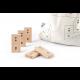 DiDi toys Mathematische Dominosteine | Multiplikation bis 10 - schwarz