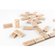 DiDi toys Mathematische Dominosteine | Multiplikation bis 10 - natur