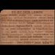 Holzpost® Grußkarte Leben