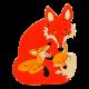 Tedefamily Puzzle Fuchs-Familie